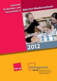 BR-Seminare SON 2012 - Bildungswerk ver.di