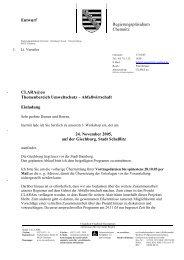 1. Arbeitskreis Abfall am 24. November 2005 in ... - CLARA@eu