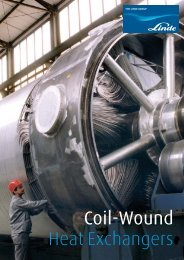 Coil-Wound Heat Exchangers - Linde-India