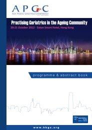 The Hong Kong Geriatrics Society