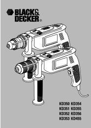 Notice d'utilisation - Black & Decker