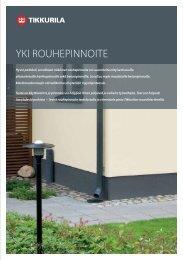 Yki Rouhepinnoite - Tikkurila