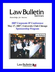 2007 IP Sponsorship flyer.pdf - Chicago Daily Law Bulletin