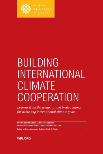 BuIldIng InternAtIonAl ClImAte CooperAtIon - World Resources ...