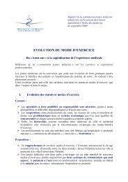 Intégralité du rapport - Conseil National de l'Ordre des Médecins