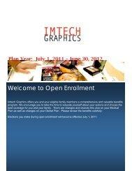 13) 2011-2012 Benefits Summary - Imtech Graphics