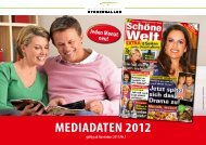 MEDIADATEN 2012 - Mediengruppe Stegenwaller