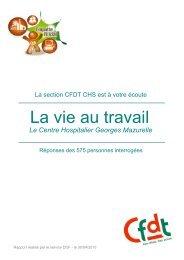 résultats - CFDT Santé Sociaux