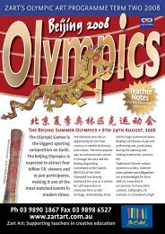 Olympic Games Activity Flyer - Zart Art