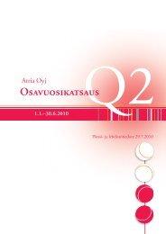 Q2/2010 - Atriagroup.com