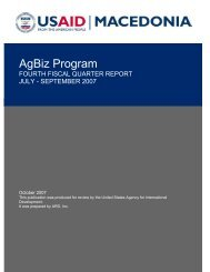 AgBiz Program - PDF, 101 mb - usaid