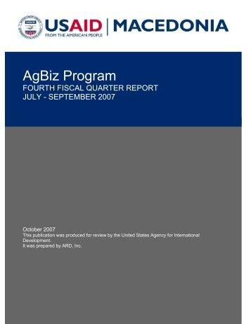 AgBiz Program - PDF, 101 mb - usaid