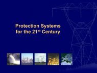 Protection Systems for the 21st Century