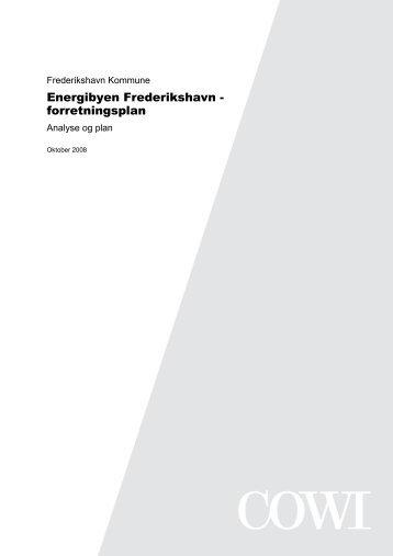 Energibyen Frederikshavn - forretningsplan - Energi PRINCIPS
