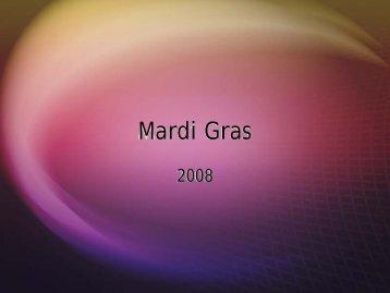 Mardi Gras Brochure - Irish Pub on Washington Street