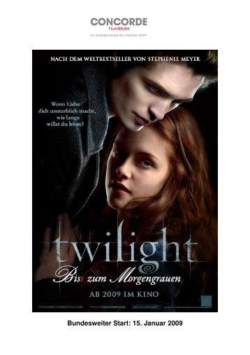 Twilight - Biss zum Morgengrauen - Concorde Filmverleih