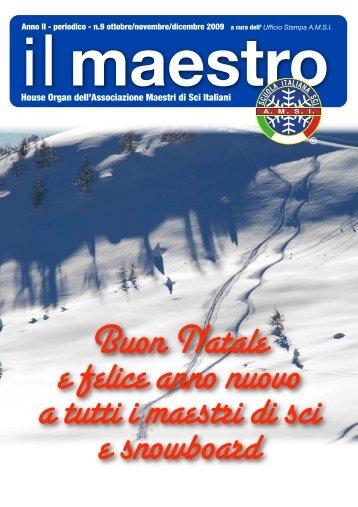 anno II - periodico - n.9 ottobre/novembre/dicembre ... - Trentino Sci