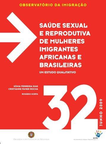 saúde sexual e reprodutiva de mulheres imigrantes africanas e ...