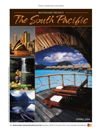 SPECIAL ADVERTISING SUPPLEMENT The South Pacific - Partner ...