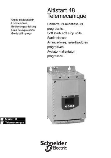 Altivar 58 trx user manual