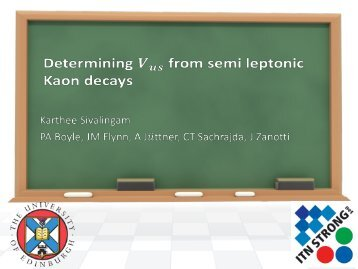 Determination of V_us from semi-leptonic K to pi decays