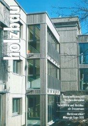 11/02 Schweizer Holzbau - Dietrich Schwarz Architekten AG