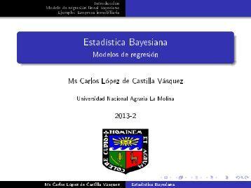 Modelos de regresión - Index of - Universidad Nacional Agraria La ...