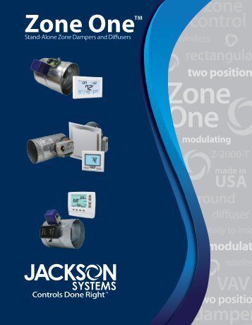 Zone One Sales Brochure - Jackson Systems, LLC
