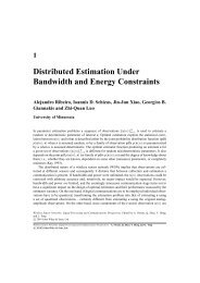 1 Distributed Estimation Under Bandwidth and Energy Constraints