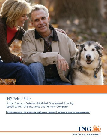 ING Select Rate Brochure - A Plus Marketing