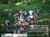 Assessment Tour and Quality Guidelines (C ... - DANUBEPARKS