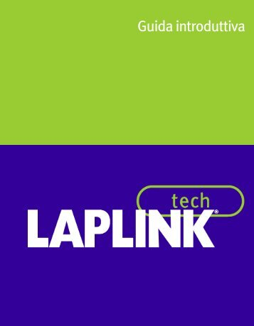 Guida introduttiva - Laplink® Software