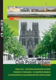 Club Projet Urbain N°8 V2.indd - Fnau