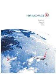 2006 Yıllık Rapor - Turkish Airlines