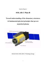 SOLAR-C Plan-B Toward understanding of the elementary ...