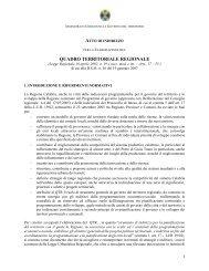 Atto di indirizzo e coordinamento tecnico per l'attuazione della L