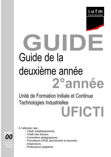 guide complet - IUFM de Toulouse