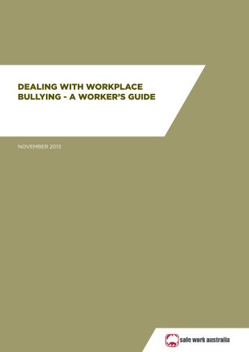 Workers-Guide-workplace-bullying