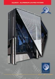 Louvre Systems Booklet - Ullrich Aluminium