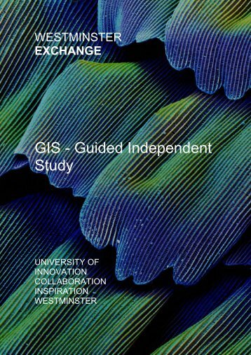 GIS - Guided Independent Study - University of Westminster