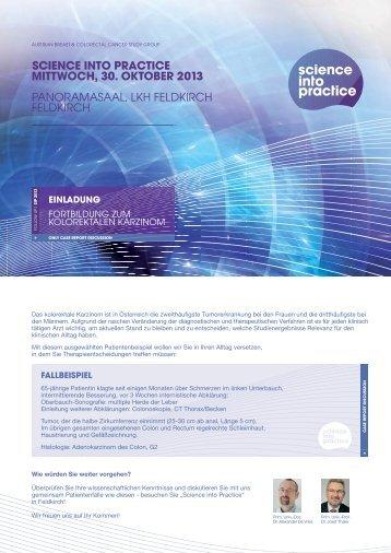 Download Einladung und Programm mit Anmeldeformular - ABCSG