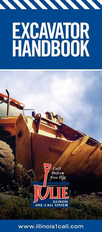 Excavator Handbook - Julie