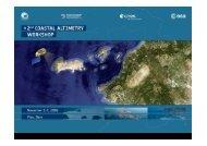 Exploiting Delay Doppler Altimetry in the coastal zone ... - COASTALT