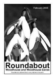 Roundabout Feb 08 - Woodhouse Parish Council