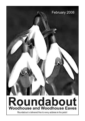 Roundabout Feb 08 - Woodhouse Parish Council