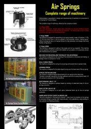 Air Springs - INTEREUROPEAN MACHINERY