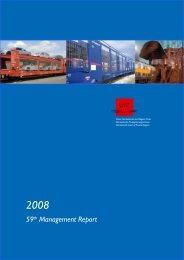 59th Mangement Report : 2008 - UIP