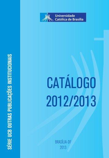 curso de pós-graduação lato sensu - Universidade Católica de ...
