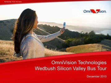 Wedbush Bus Tour Presentation - OmniVision