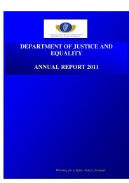 Annual Report 2011 - The Department of Justice and Equality